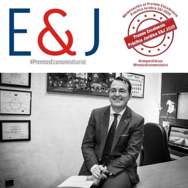 Roberto Alonso Simón, nominado por Economist&Jurist