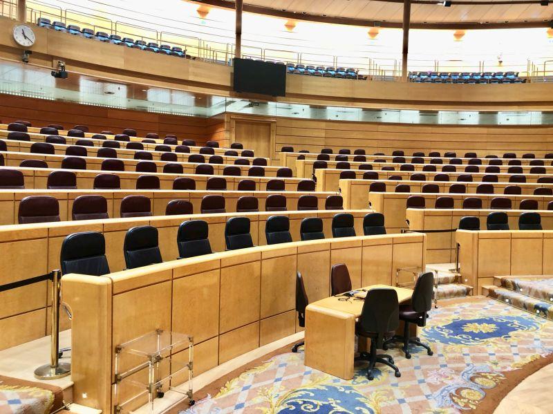 Códice Abogados C.B. visitó el pasado día 24 de septiembre el Senado, la Cámara Alta del Parlamento Español, gracias a la 7ª edición del Open House Madrid.